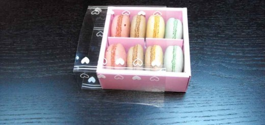 Cutii compartimentate pentru Macarons