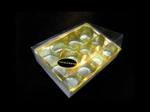 wholesale golden plastic blister tray for chocolate boxes Ambalaje Plastic | Ambalaje Din Plastic