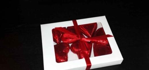 Cutii din carton cu fereastra pentru ciocolata inimioare Ambalaje Plastic | Ambalaje Din Plastic