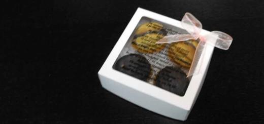 Cutii din carton cu fereastra pentru marturii de nunta Ambalaje Plastic | Ambalaje Din Plastic