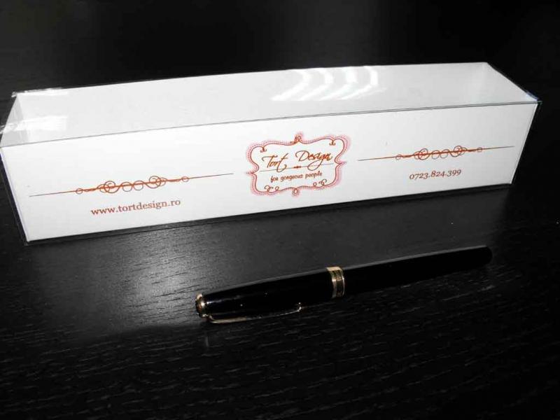 Cutii inscriptionate pentru dulciuri