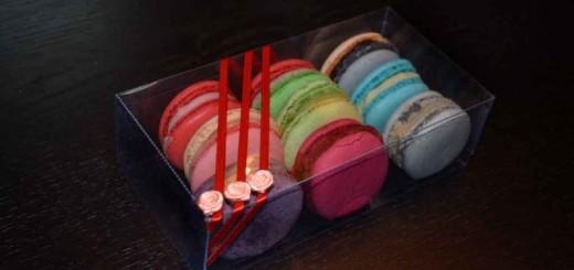 Cutii personalizate Macarons Ambalaje Plastic | Ambalaje Din Plastic