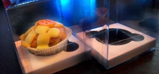 Cutii plastic cu capac muffins, briose, cupcakes
