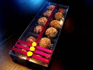Pralines box of 12
