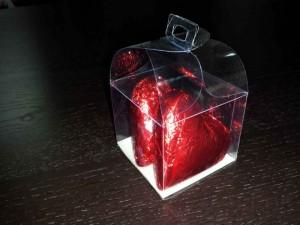 Heart shaped chocolate box Ambalaje Plastic | Ambalaje Din Plastic