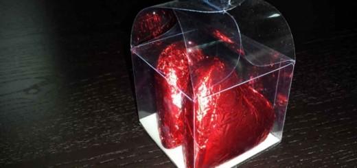 Cutii plastic inimioare ciocolata Ambalaje Plastic | Ambalaje Din Plastic