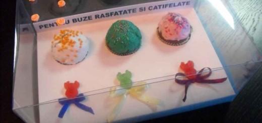 Cutii plastic personalizate cupcakes