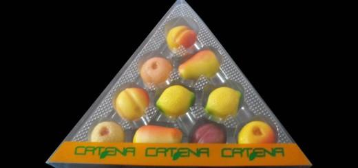 Cutii triunghiulare figurine martipan