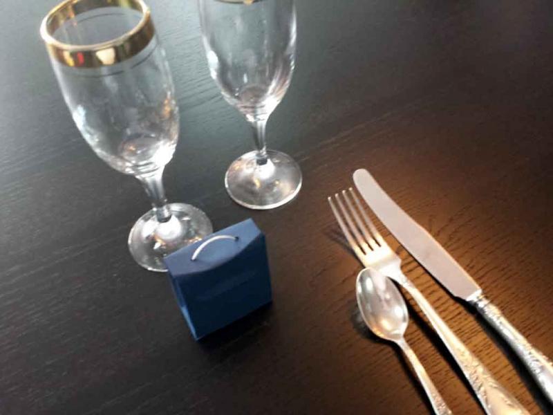 Cutiute posetuta pentru marturii de nunta