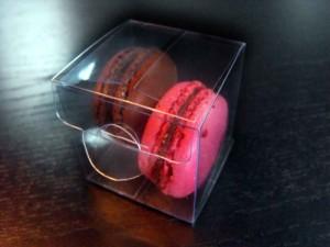 Macaron wedding favor packaging