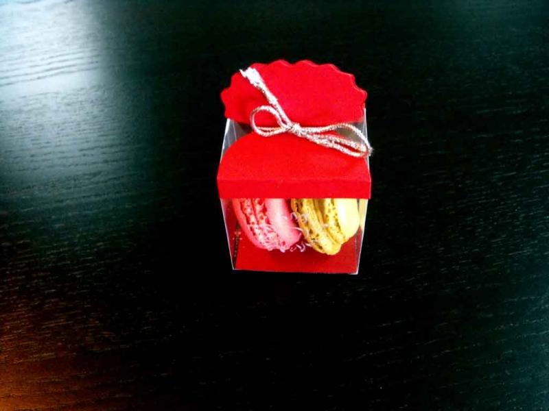 Cutiute plastic Macarons