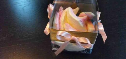 Cutiute plastic ambalaj figurine Marshmallow
