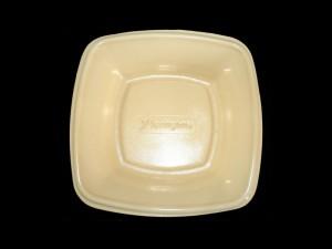 Fast food plastic tray