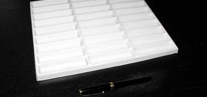 Forme pentru turnat batoane ciocolata