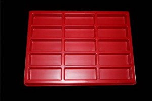 15 cavities chocolate candy moulds