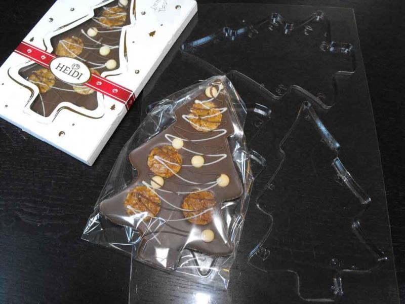Forme pentru turnat ciocolata model bradut