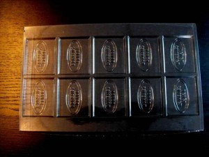 10 chunk chocolate bar mould