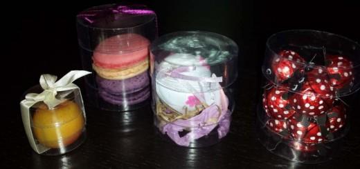 Cutii cilindrice marturii de nunta Ambalaje Plastic | Ambalaje Din Plastic