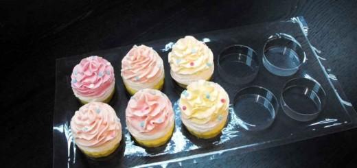 Tavi plastic transport cupcakes Ambalaje Plastic | Ambalaje Din Plastic