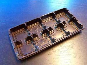 Plastic chocolate box Ambalaje Plastic | Ambalaje Din Plastic