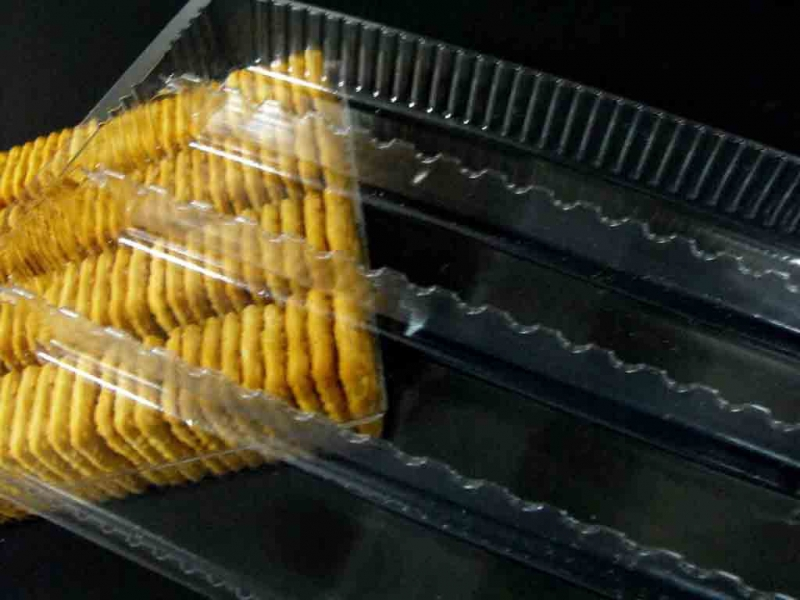 Caserole din plastic pentru biscuiti