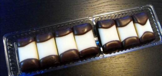 Caserole plastic biscuiti ciocolata 2 alveole Ambalaje Plastic | Ambalaje Din Plastic