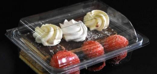 Caserole pentru prajituri model Bacarat Ambalaje Plastic | Ambalaje Din Plastic
