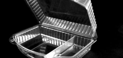 Casoleta compartimentata model ELEGANCE Ambalaje Plastic | Ambalaje Din Plastic