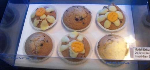 Cutii din plastic pentru 6 muffins Ambalaje Plastic   Ambalaje Din Plastic