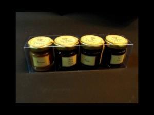 Jam jars plastic boxes