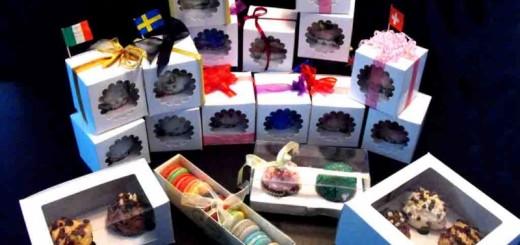 Cutii carton briose, cutii carton cupcakes, cutii muffins Ambalaje Plastic   Ambalaje Din Plastic