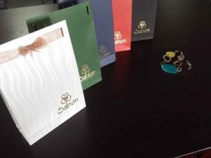 Small jewelry paper bags Ambalaje Plastic | Ambalaje Din Plastic