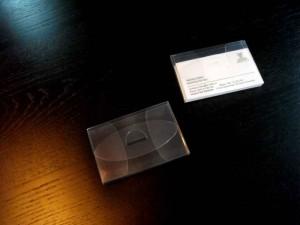 Plastic holders for business cards Ambalaje Plastic | Ambalaje Din Plastic