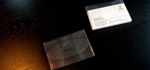 Suport plastic pentru carti de vizita Ambalaje Plastic | Ambalaje Din Plastic